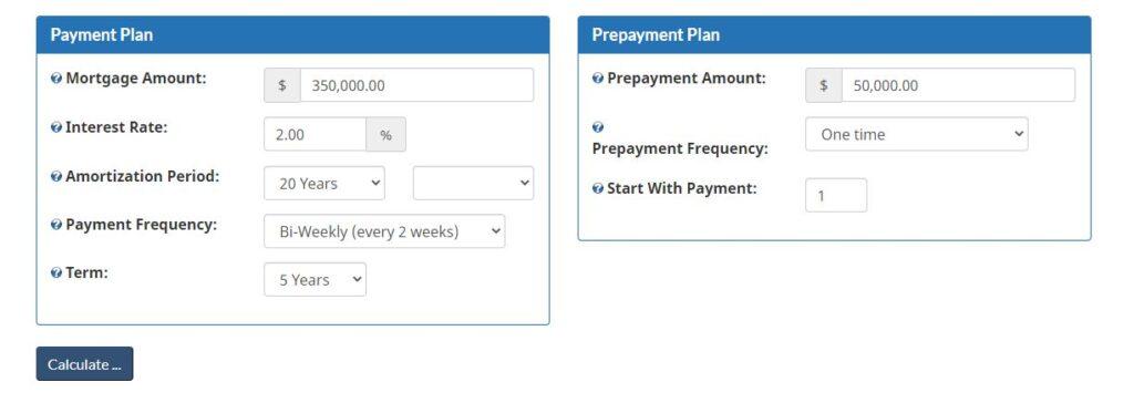 Mortgage Calculator 1