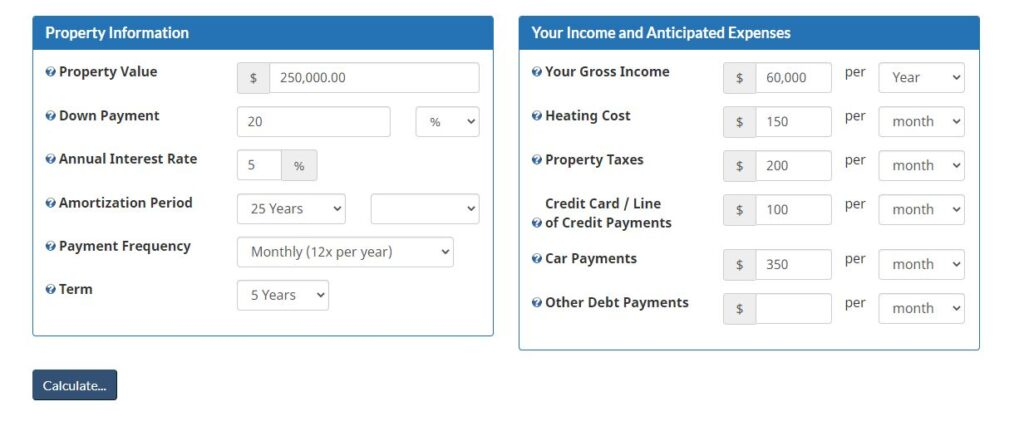 Mortgage Qualifier Tool 1 1