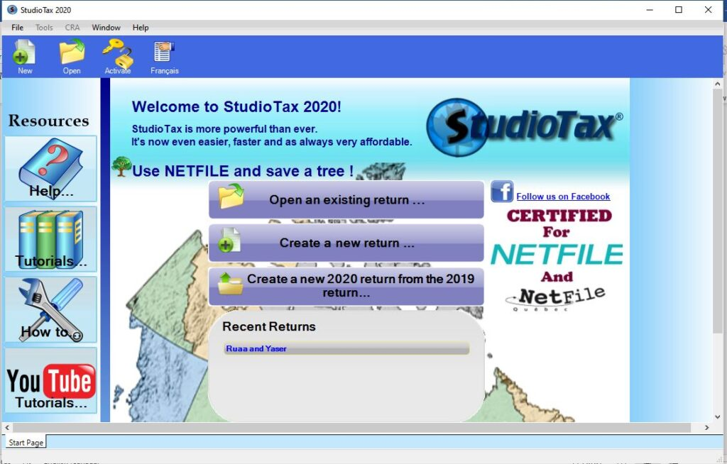 Best Free Income Tax Return Software in Canada for 2021 - StudioTax