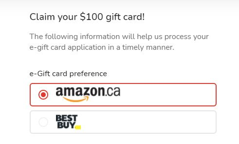 Special Unique Credit Card Offer – Claim your $100 Gift Card