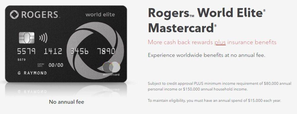 Rogers World Elite Mastercard