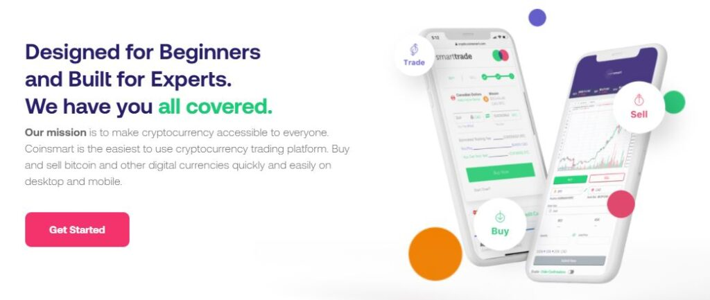 CoinSmart Crypto Exchange