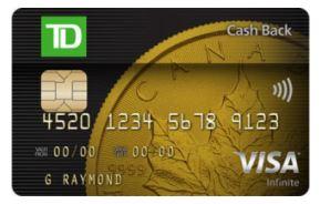 TD Cash Back Visa Infinite Roadside Assistance Review