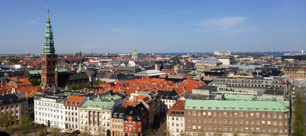 Copenhagen from Christiansborg Palace Tower
