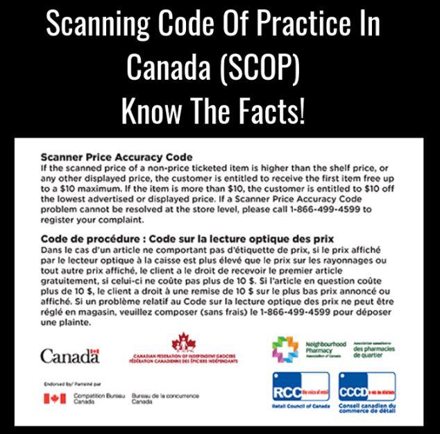 Code of Practice in Canada (SCOP)