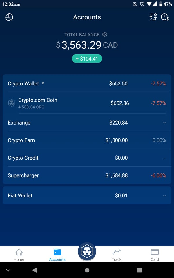 Crypto.com App Wallet