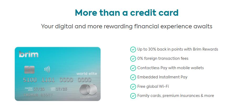 Brim Financial Review - Brim Mastercard - Brim Credit Cards