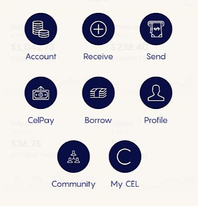 Celsius App Options